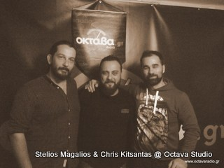 Stelios Magalios & Chris Kitsantas @ Studio (Rock Spirit)