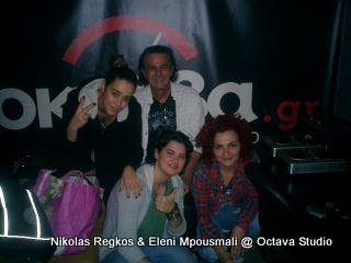 Νικόλας Ρέγκος & Ελένη Μπουσμάλη @ Studio (Μαγεμένο Ταξίδι)