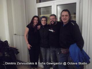 Δημήτρης Ζερβουδάκης & Σοφία Γεωργαντζή @ Studio (Έν...τεχνος)