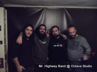 Mr. Highway Band @ Studio (Rock Spirit wc Rock Driver)