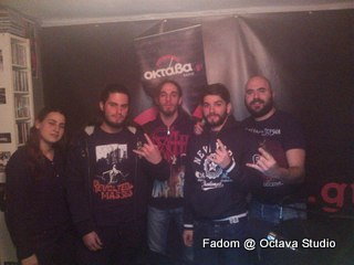 Fadom @ Studio (Visions of Metal)