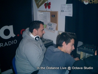 In the Distance @ Studio (Ραδιο-φονικοί Προαγωγοί)