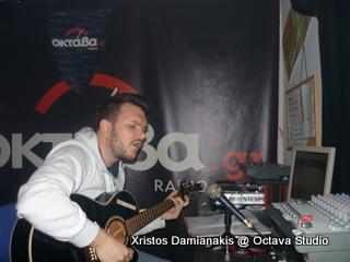 Χρήστος Δαμιανάκης @ Studio (Ροκόμελα)